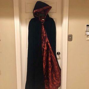 Hooded Cape Halloween Costume